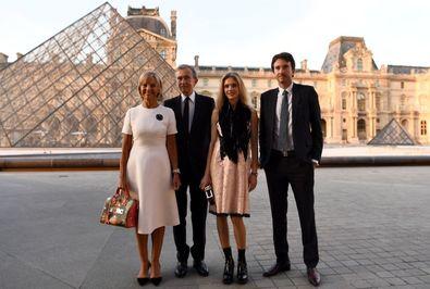 رئیس گروه شرکت های Louis Vuitton Moët Hennessy برنار آرنو