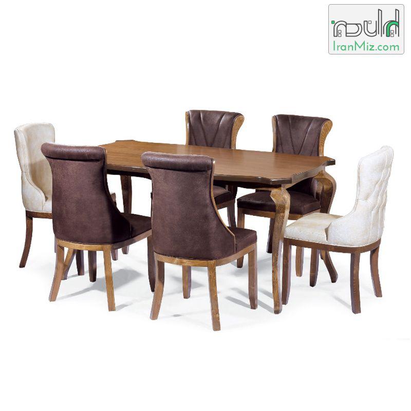میز ناهار خوری چوبی - ایران میز