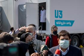 رونمایی و افتتاح بزرگترین بیمارستان سیار کشور