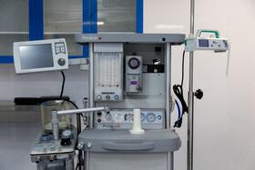 تجهیزات اتاق عمل در بزرگترین بیمارستان سیار کشور