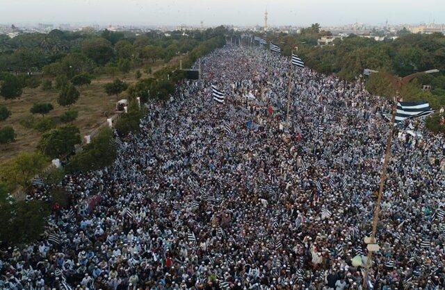راهپیمایی میلیونی پاکستانی ها علیه عادی سازی روابط با رژیم صهیونیستی