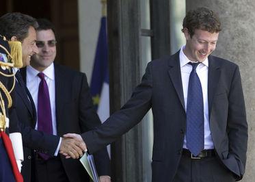 مارک زاکربرگ رئیس کل فیس بوک