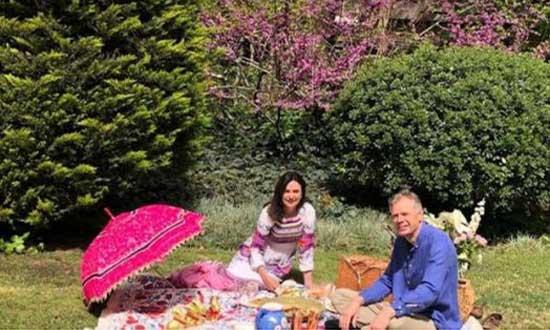 سیزدهبدر سفیر بریتانیا در تهران