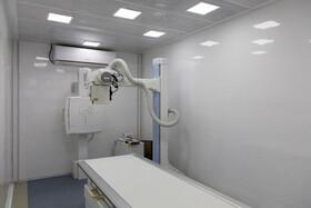 مرکز تصویربرداری بزرگترین بیمارستان سیار کشور