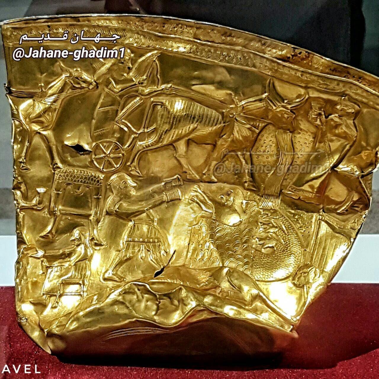 جام طلای 3200 ساله