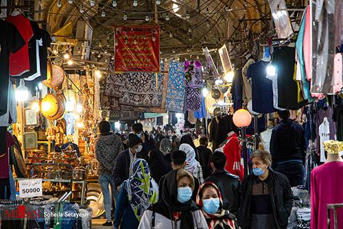حال و هوای بازار وکیل شیراز در روزهای پایانی سال