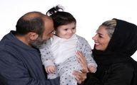 همسر و دختر مهران غفوریان در یک قاب +عکس