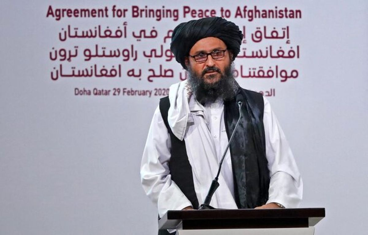 معاون رهبر طالبان در راه کابل