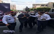 مراسم تشییع پیکر همسر امام موسی صدر در لبنان
