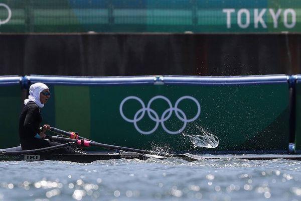 تاریخسازی نازنین ملایی در قایقرانی المپیک