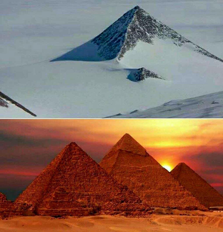 هرم اسرارآمیز شبیه به اهرام مصر که در قطب جنوب واقع شده!