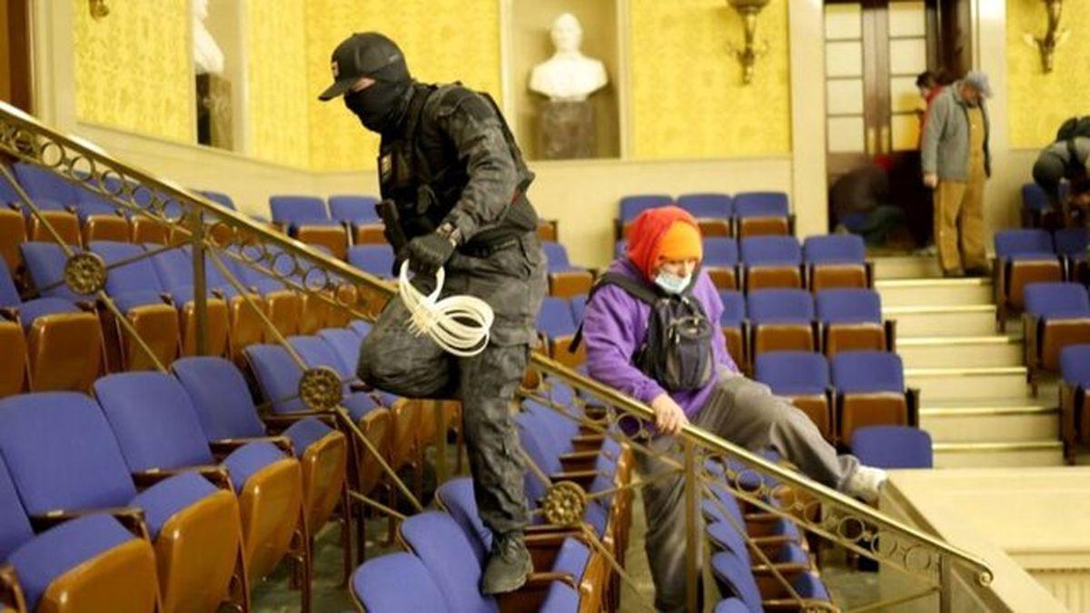 بازداشت مهاجمان به کنگره ادامه دارد