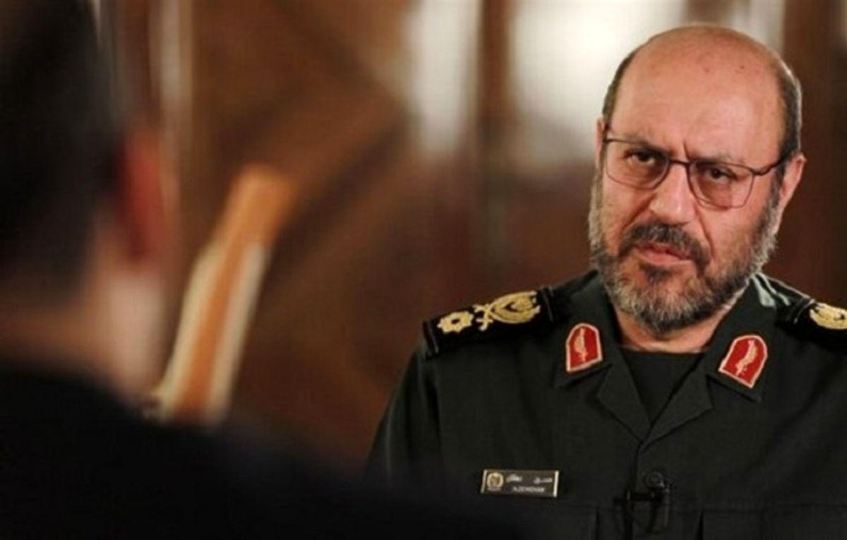 شرط ایران برای مذاکره با آمریکا از زبان سردار دهقان + جزئیات
