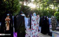 تصاویر نماز عید سعید فطر در دانشگاه تهران