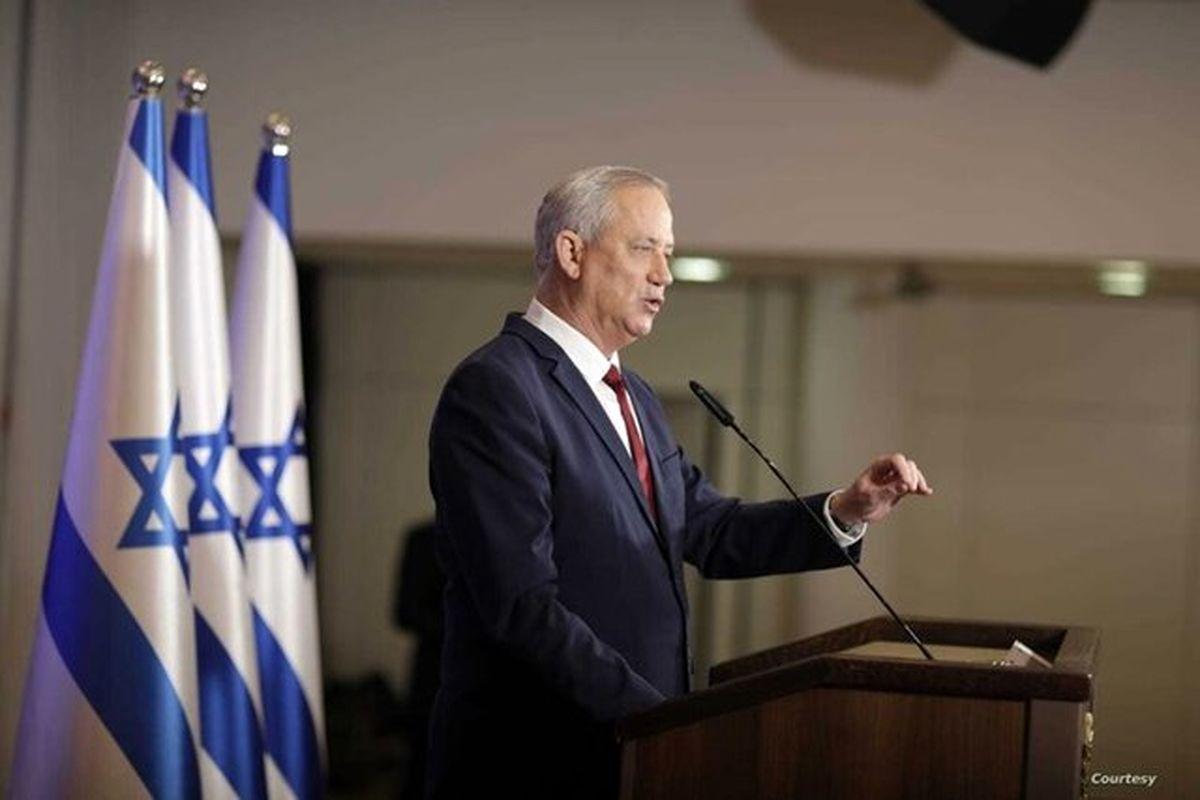 گانتس به اظهارات نتانیاهو درباره اختلاف با آمریکا پاسخ داد