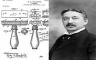 عکس مخترع تیغ ژیلت را در سال 1901 ببینید