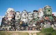 ساخت مجسمه سران G7 با زبالههای الکترونیکی