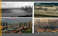 ببینید تغییرات حیرت انگیز دبى و سنگاپور طى 15