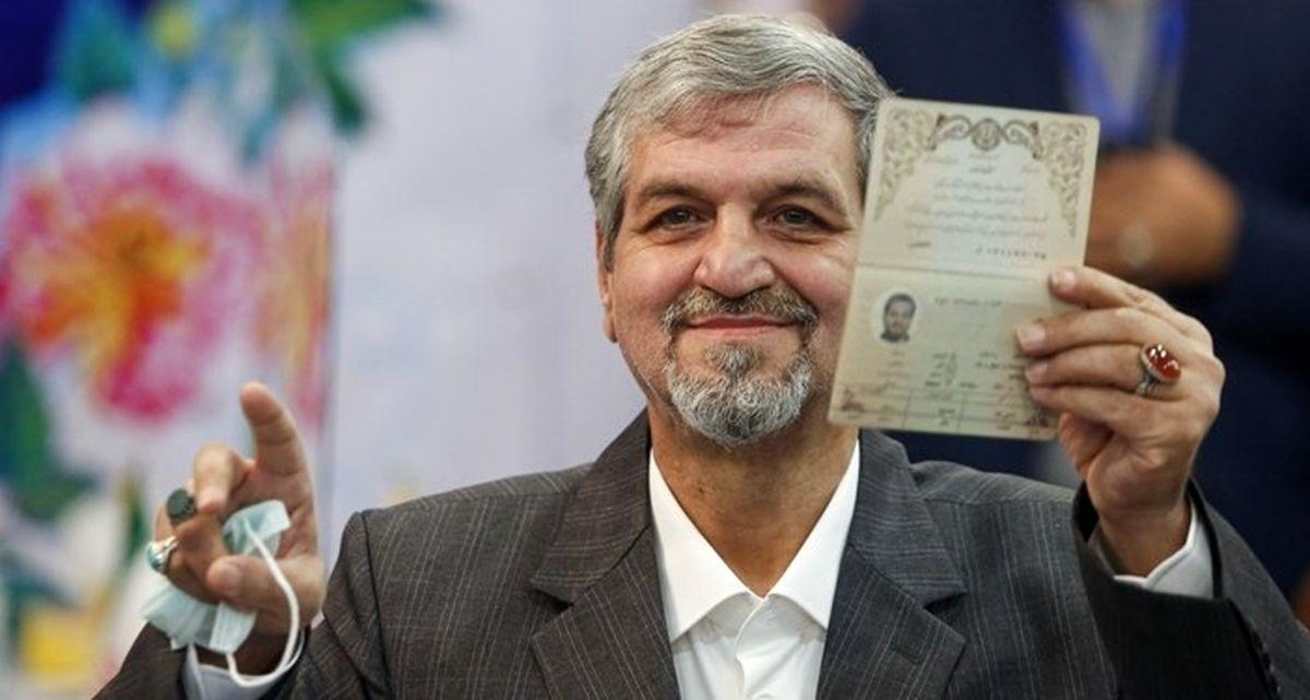 توئیت انتخاباتی دبیرکل حزب مردم سالاری + عکس