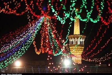 عید غدیر در حرم رضوی