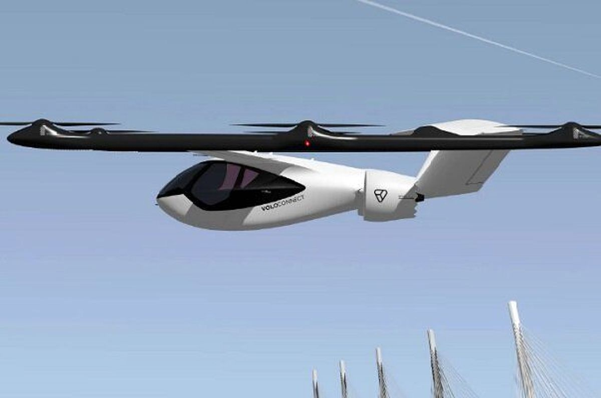 ولوکانکت؛ جدیدترین تاکسی هوایی جهان را ببینید