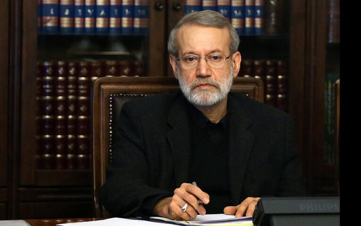 علی لاریجانی پیام داد + متن نامه