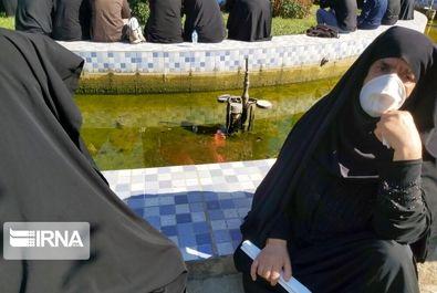 تشییع پیکر علامه حسنزاده آمل