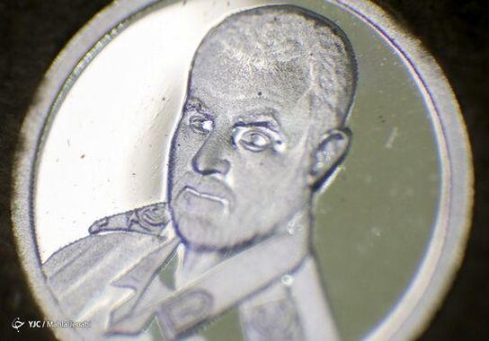 سکه سپهبد سلیمانی