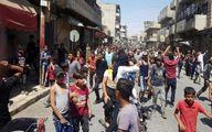 تظاهرات مردم سوریه علیه شبهنظامیان وابسته آمریکا