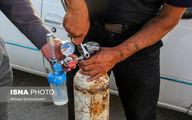 تصاویر تلخ از صف اکسیژن در مشهد