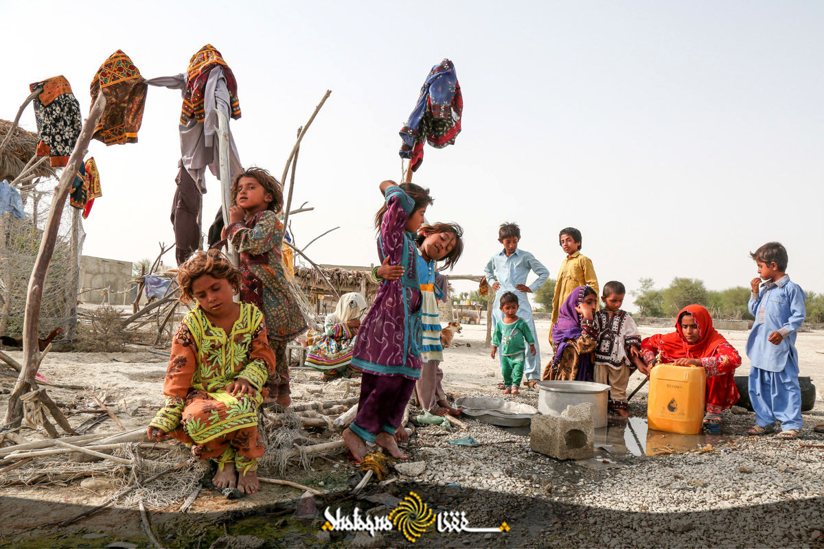 گزارش تصویری با محرومان؛ کودکان حاشیه نشین چابهار