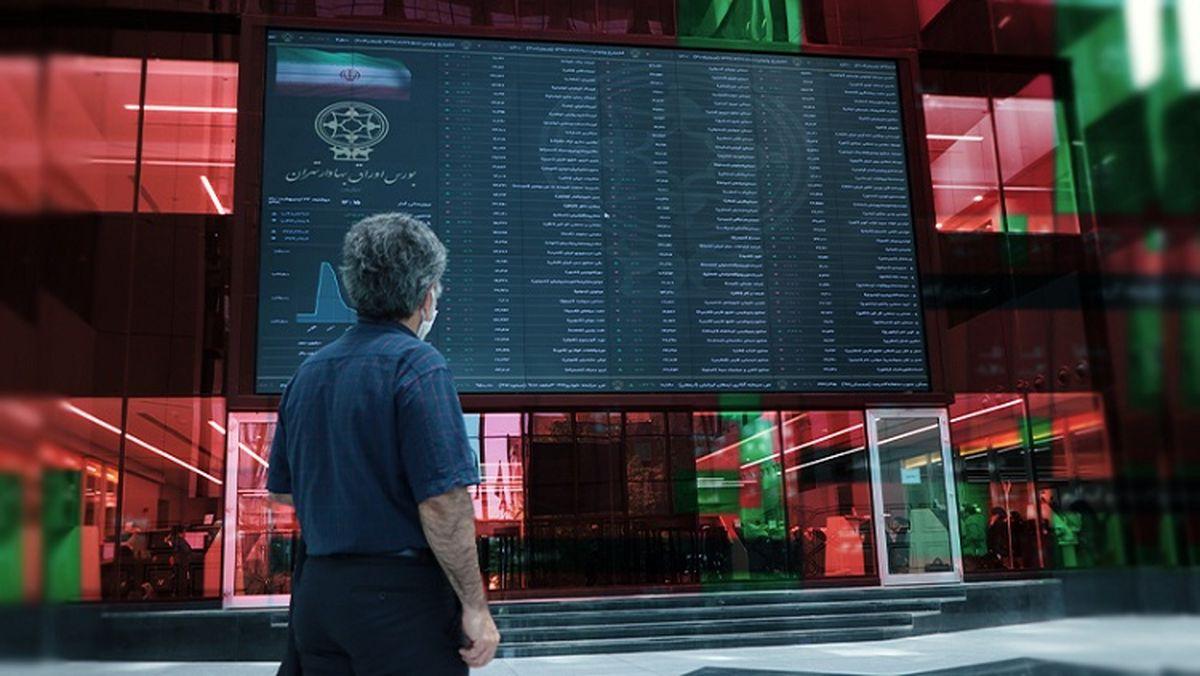 شاخص کل بورس بیش از ۱۰هزار واحد افت کرد + نقشه بازار