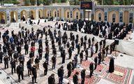 نماز ظهر عاشورا (گزارش تصویری)