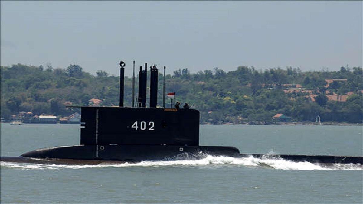 ۵۳ خدمه زیردریایی اندونزی جان باختند