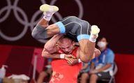 اجرای باورنکردنی فن سنجاب توسط گرایی در المپیک