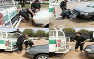 عکس/ اقدام قابل تحسین پلیس دزفول/عکس