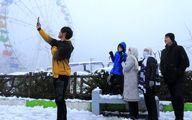 عکسهای باحال از بارش برف در آخرین روزهای زمستان - گلستان