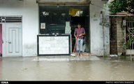 بارش شدید باران و آب گرفتگی معابر/تصاویر