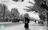 عکس دیده نشده از جاده قدیم شمیران/ عکس