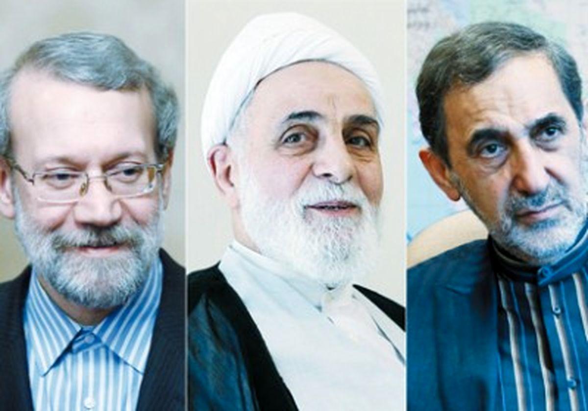 دلخوشی روحانی به حمایت سه «اصولگرای شناسنامهدار» /مثلثِ اعتدال پشت سر شیخ دیپلمات
