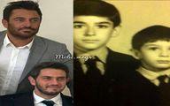محمدرضا گلزار و برادرش در گذر زمان + عکس