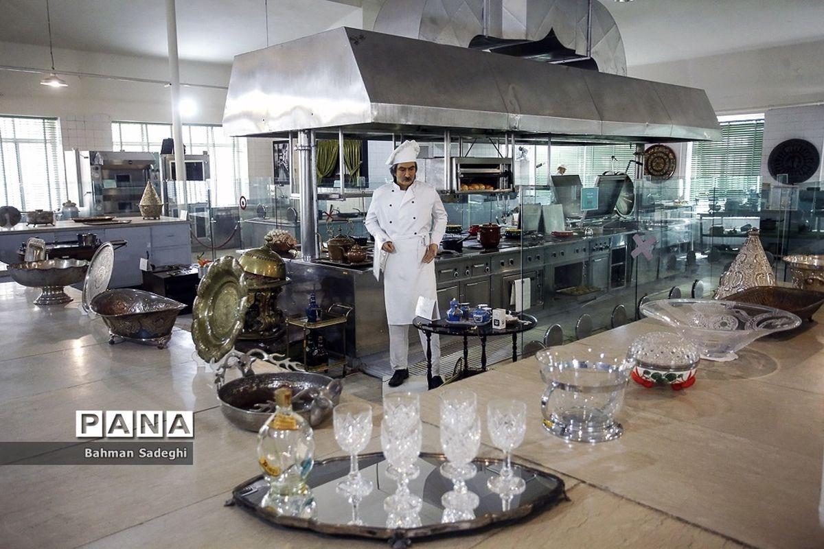 تصاویر دیده نشده از آشپزخانه سلطنتی و مخصوص کاخ سعدآباد