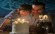 جشن تولد 50سالگی پیمان معادی + عکس