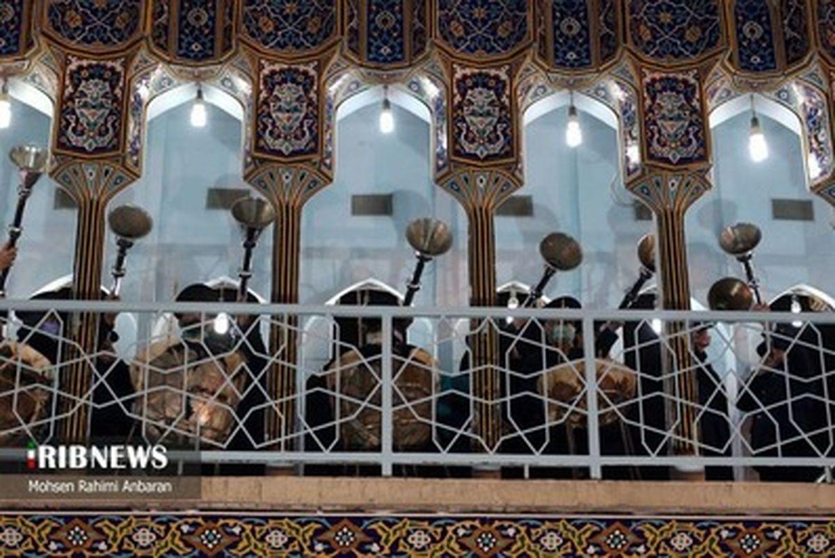 تصاویر زیبا از جشن عید مبعث و مراسم نامگذاری صحن پبامبر اعظم (ص) در حرم رضوی