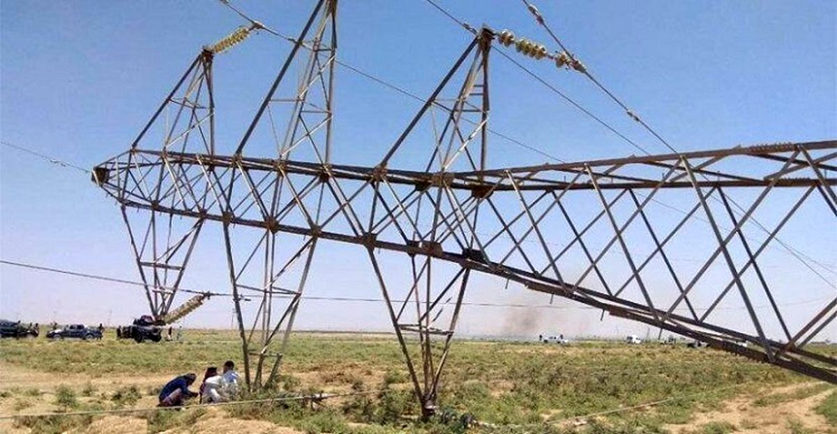 فوری/ انفجار دو دکل انتقال برق ایران به عراق + جزئیات
