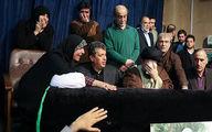 وداع یادگار امام با آیت الله هاشمی رفسنجانی/عکس