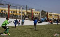 تصاویری از مسابقات فوتبال زندانیان در پرو