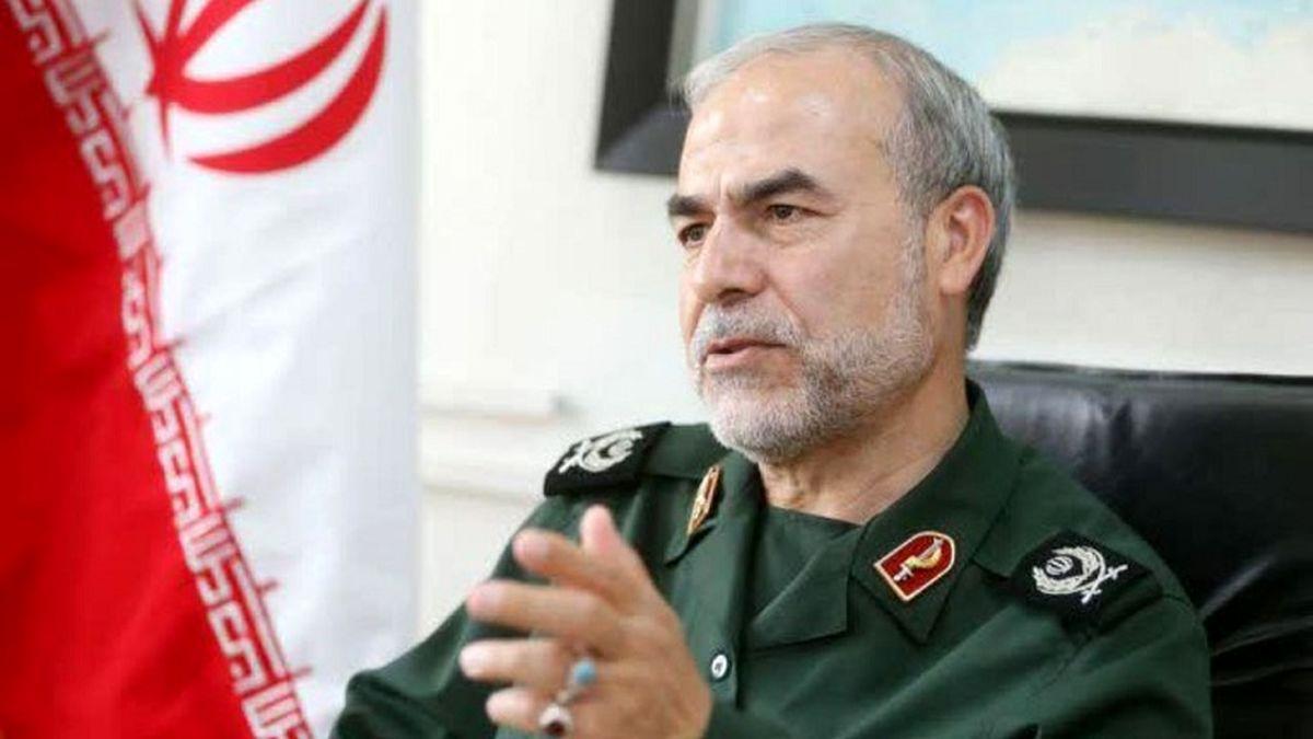 معاون سیاسی سپاه: هر ایرانی با رأی خود قدرت جمهوری اسلامی را افزایش میدهد