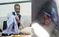 عکس های لحظه ترور و جسد یکی از بزرگان بلوچستانی در خیابان مولوی + عکس