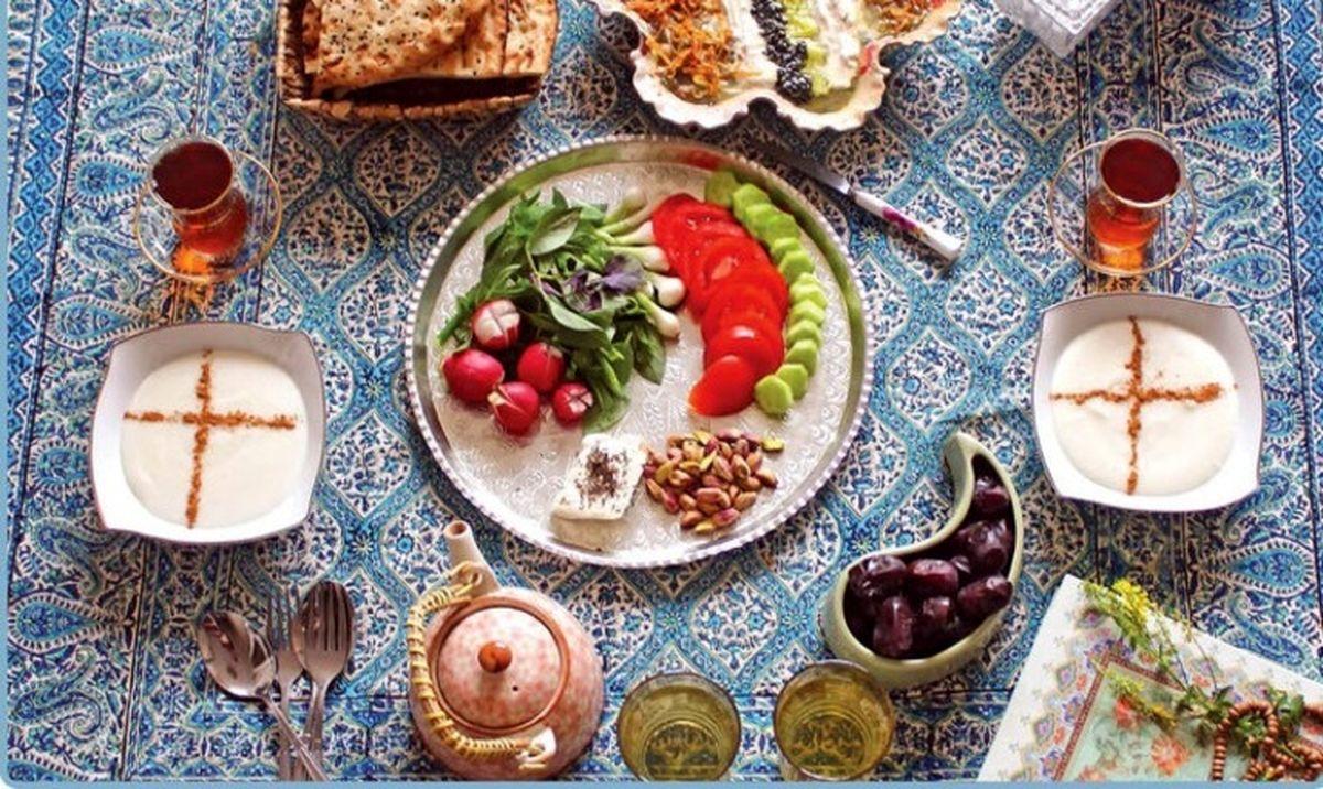 بهترین برنامه تغذیه ای در ماه مبارک رمضان